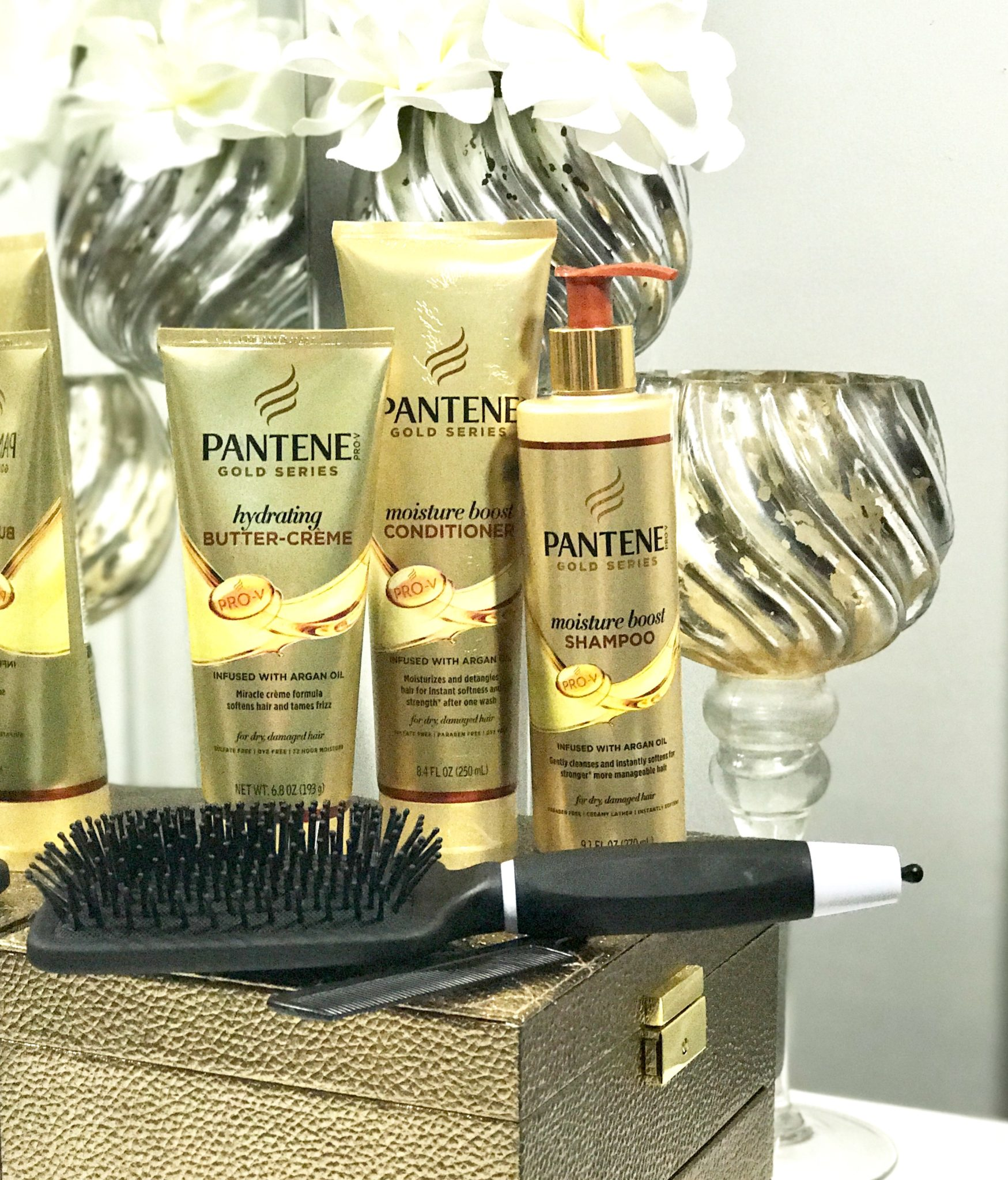 PANTENE GOLD SERIES | STYLE WITH ME