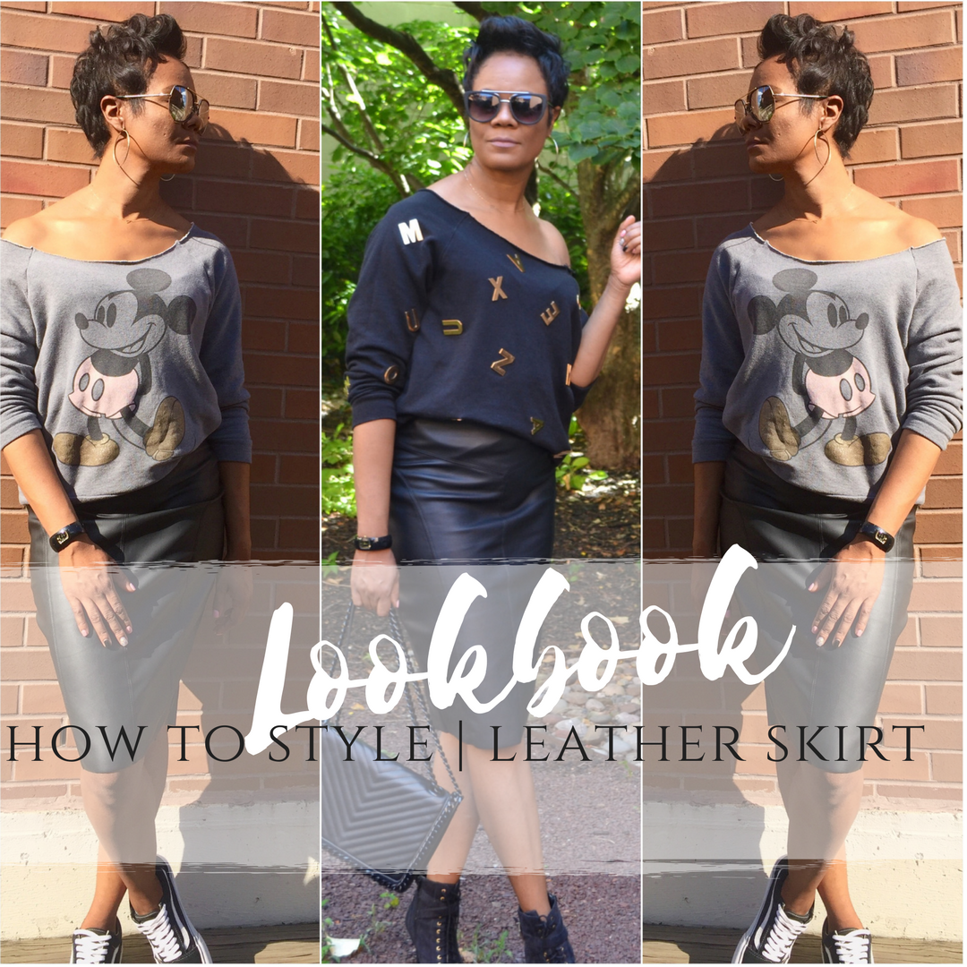 HOW TO STYLE | LEATHER SHIRT